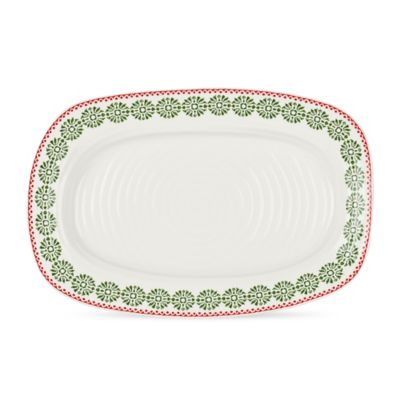 Sophie Conran for Portmeirion® Christmas Sandwich Tray in Snowflake