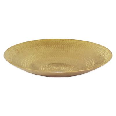 Pampa Bay Elegant Brass 16-Inch Round Bowl