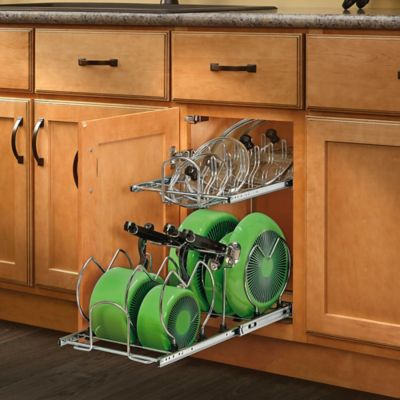 Rev-A-Shelf® 12-Inch 2-Tier Cookware Organizer