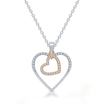 Silhouettes of Love Necklaces & Pendants