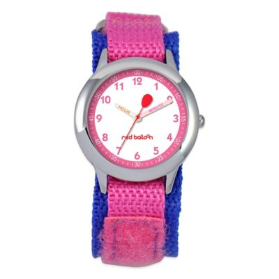 Pink Teacher Watch