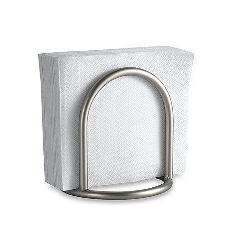 Buy Spectrum Euro Chrome Flat Napkin Holder From Bed