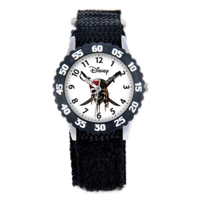 "Disney Children's 32mm ""Pirates of the Caribbean"" Watch in Black"
