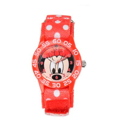 Disney® Children's 32mm Minnie Mouse Plastic Watch with Nylon Strap