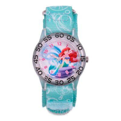 Disney® Children's 32mm Ariel Plastic Watch in Blue