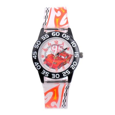 "Children's ""Cars Plastic Watch in Black"