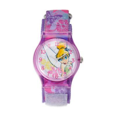 Disney® Children's 33mm Tinkerbell Plastic Watch in Pink