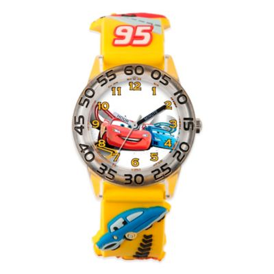 Yellow Plastic Watch