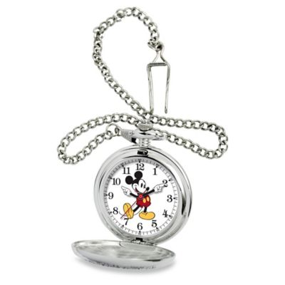 Disney® Men's 51mm Classic Mickey Mouse Pocket Watch in Alloy