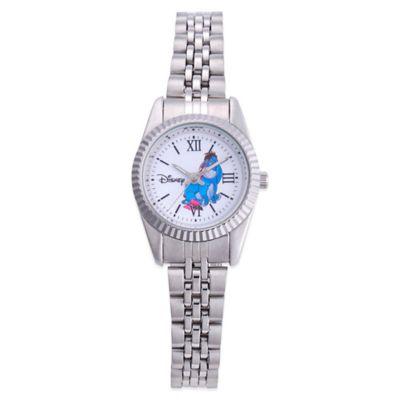 Disney® Ladies' 26mm Eeyore Status Watch in Stainless Steel