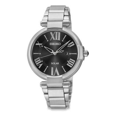 Seiko Recraft Women's 32.5mm Solar Watch in Stainless Steel