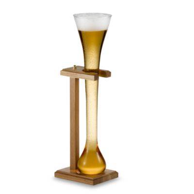 Half Yard of Ale Glass with Stand
