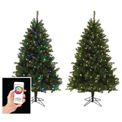 Versaline Color-Flip App-Enabled Christmas Tree