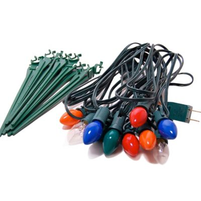 Electric Pathway Lights in Multicolor (10 Count)