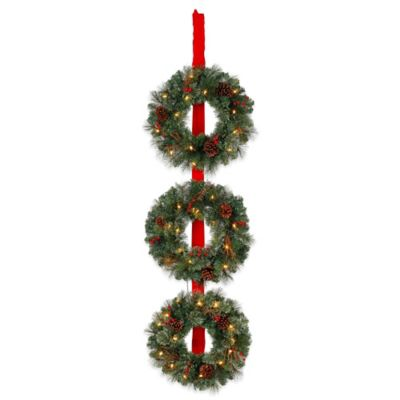 3-Wreath Vertical Set