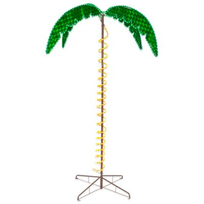 Roman 7-Foot Ropelight Palm Tree