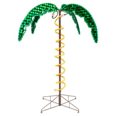 Roman 4-Foot 6-Inch Ropelight Palm Tree
