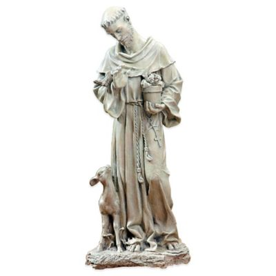 Joseph's Studio St. Francis with Fawn Garden Statue