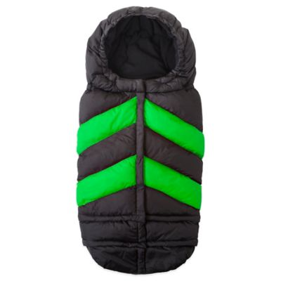 7 A.M.® Enfant Blanket 212 Chevron in Black/Green