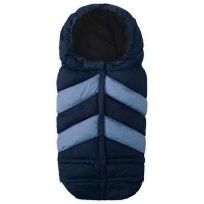 7 A.M.® Enfant Blanket 212 Chevron in Navy/Light Blue