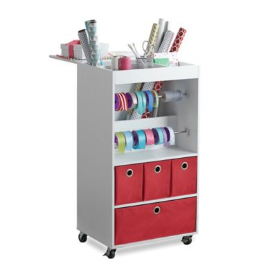 Real Simple® Gift Wrap Cart