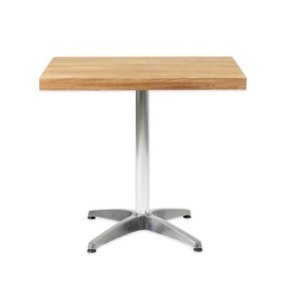 Eurostyle Sam Dining Table in Teak/Aluminum