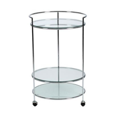 Eurostyle Roberta Side Table Rolling Cart