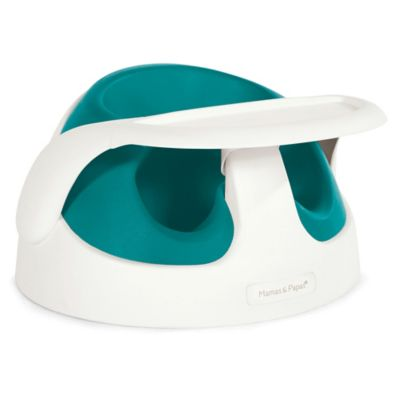 Mamas & Papas Baby Snug Booster with Tray in Teal