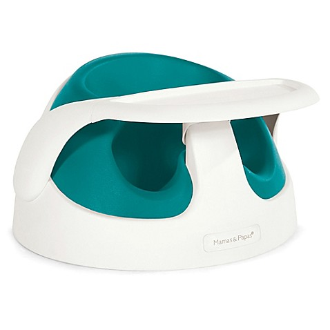 Mamas Amp Papas Baby Snug Booster With Tray In Teal Buybuy