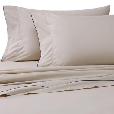 Bellora® Corvina Standard Pillowcases in Taupe/Black (Set of 2)