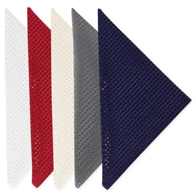 Sam Hedaya Lafayette Napkins in Red (Set of 4)