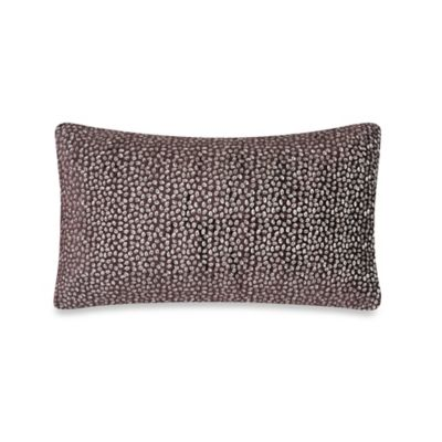 Spotted Purple Decorative Pillows