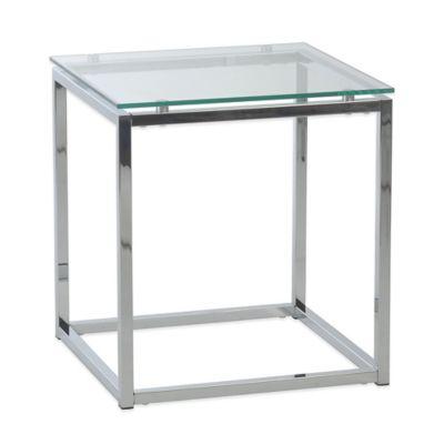 Eurostyle Sandor Side Table in White