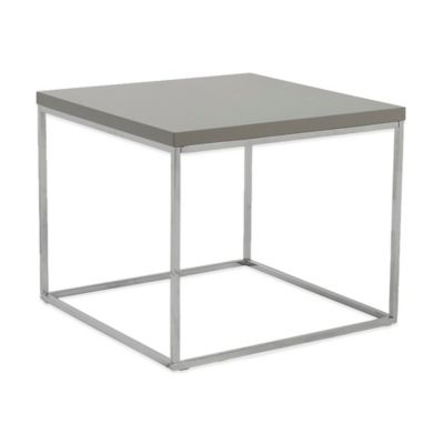 Eurostyle Teresa Side Table in Grey