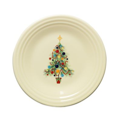 Fiesta® Christmas Tree Luncheon Plate