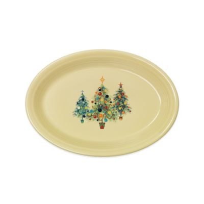 Fiesta® Christmas Tree Trio Large Oval Platter