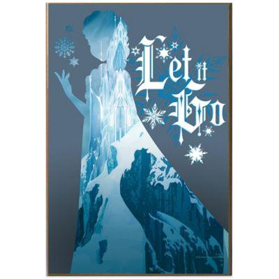 Disney® Frozen Let It Go Elsa Mountain Silhouette Wall Art