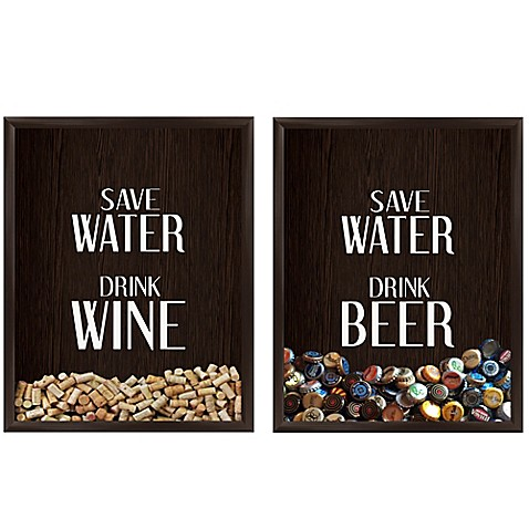 Save Water Drink Beer Cap Holder Bed Bath And Beyond