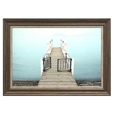 dock with gate framed wall d cor bed bath beyond. Black Bedroom Furniture Sets. Home Design Ideas