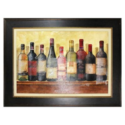 Wine Table Framed Wall Art