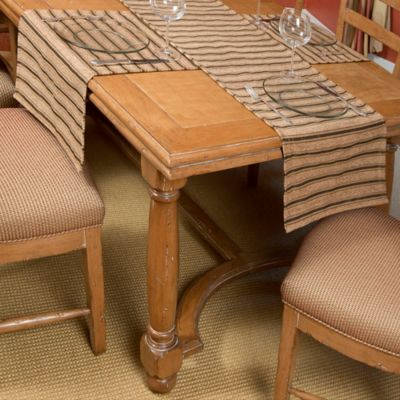 Tablemattes™ Belmont Extra-Small Runner Mat Set in Chocolate