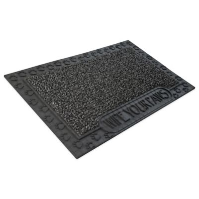 Clean Machine® Wipe Your Paws 18-Inch x 30-Inch Scraper Door Mat