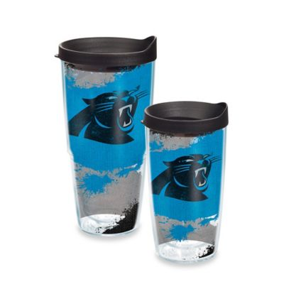 Tervis® NFL Carolina Panthers 16 oz. Distressed Wrap Tumbler with Lid