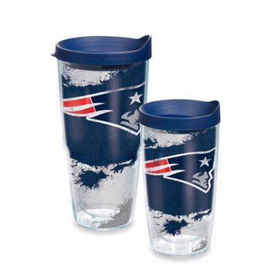 Tervis® NFL New England Patriots 24 oz. Distressed Wrap Tumbler with Lid