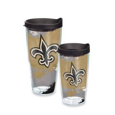 Tervis® NFL New Orleans Saints 24 oz. Distressed Wrap Tumbler with Lid