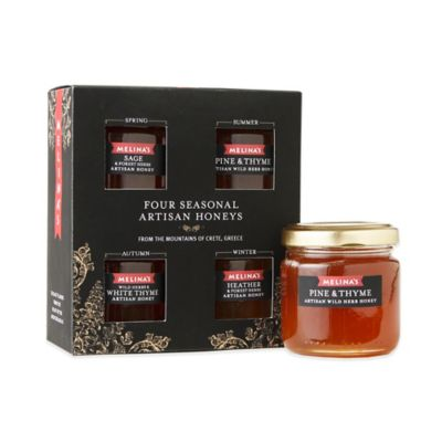 Melina's Four Seasons of Crete Honey Medium Gift Set
