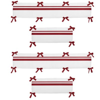 Red Baby Crib Bumpers