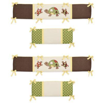 Sweet Jojo Designs Turtle 4-Piece Crib Bumper