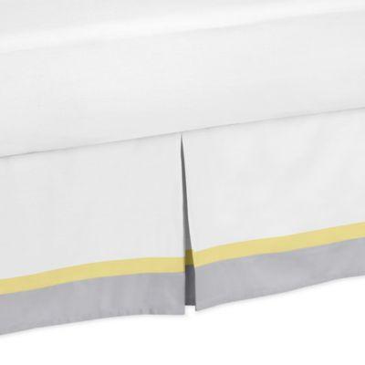 Sweet Jojo Designs Mod Garden Queen Bed Skirt