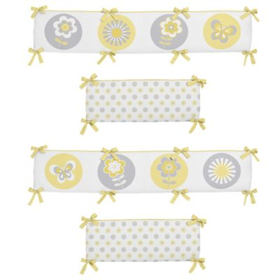 Floral Baby Crib Bumpers